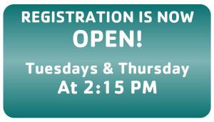 Website Registration & Days Spring 18