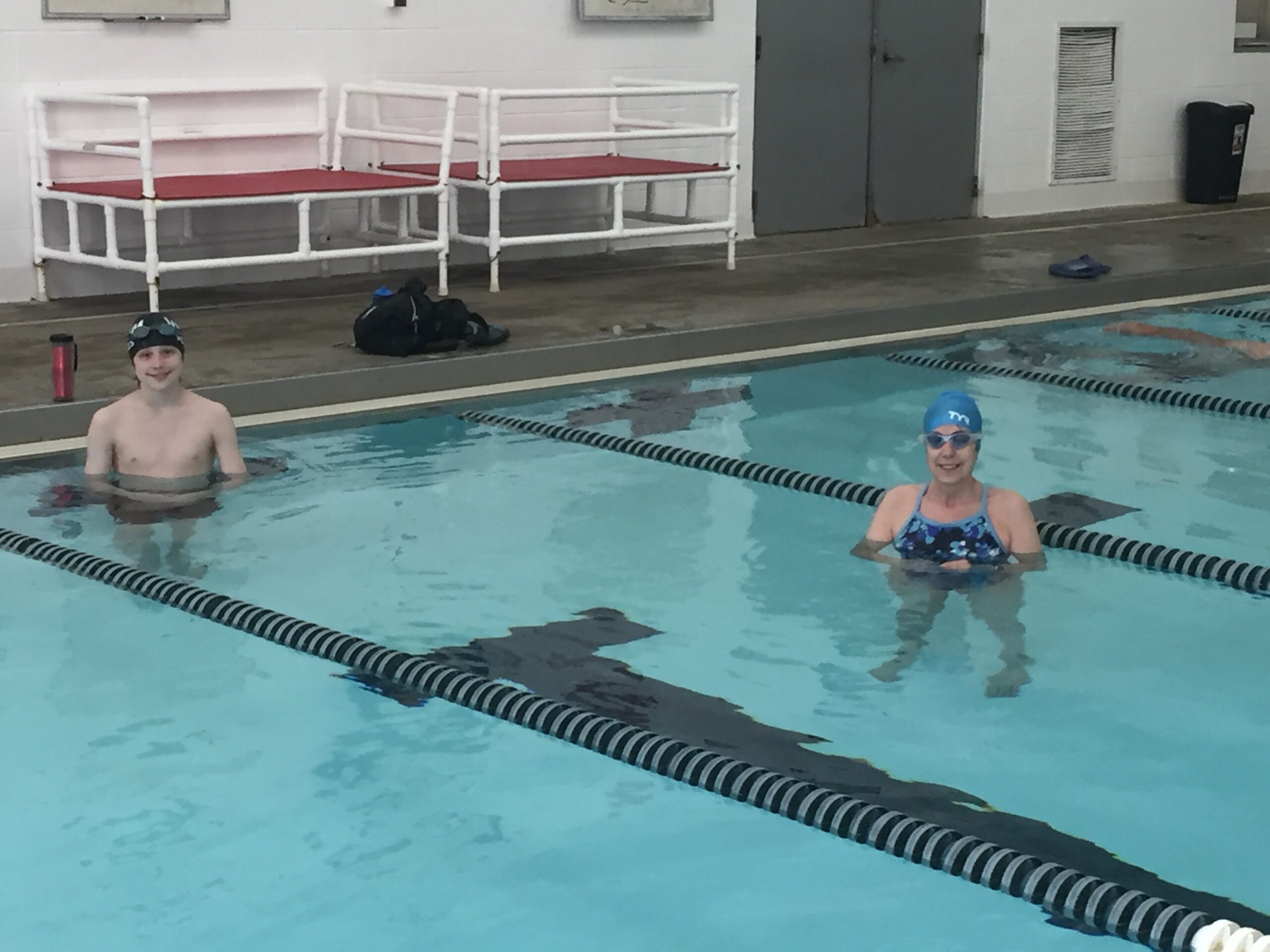 Lap Swimming During Covid